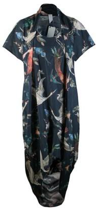 Format Sage Dress Plain Cotton - birds / onesize