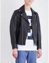 Diesel L-Kramps leather jacket