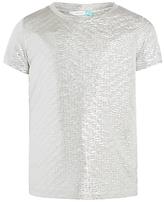 John Lewis Girls' Metallic T-Shirt