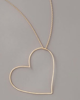GaugeNYC Heart Pendant Necklace