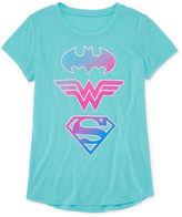 Jerry Leigh Super Hero Sheilds T-Shirt- Girls' 7-16