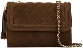 Chanel Pre Owned 1990s Fringe Chain Shoulder Bag