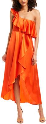 Alexis Austyn Silk Maxi Dress