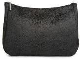 Amuse Society Faux Calf Hair Clutch - Black