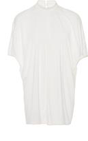 Rick Owens Lilies Island Mock Neck T-Shirt