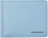 Burberry Blue Hipfold Wallet