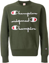 Champion logo printed sweatshirt