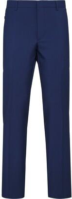 Prada Cropped Fabric Trousers