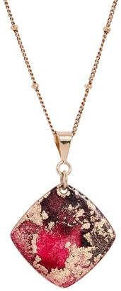 Odell Design Studio Gold Mini Diamond Necklace - Blush