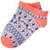 Crazy 8 Fair Isle Socks