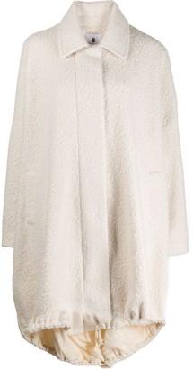 ASAI High-Low Shearling Coat