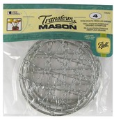 Ball 4ct Transform Mason Frog Lid Inserts Wide Mouth