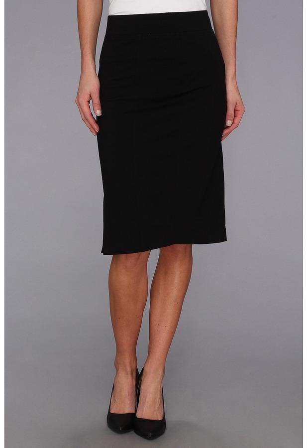NYDJ Prudence Skirt (Black) - Apparel