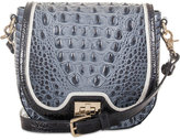 Brahmin Mini Sonny Denim Tri-Texture Crossbody