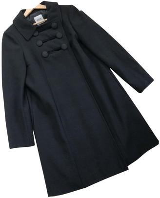 Moschino Cheap & Chic Moschino Cheap And Chic Black Wool Coat for Women