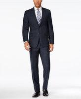 Lauren Ralph Lauren Men's Slim-Fit Navy Glen Plaid Flannel Suit
