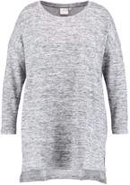 Junarose JRCORA Jumper medium grey melange