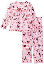 Little Me Santa PJ Set (Toddler Girls)