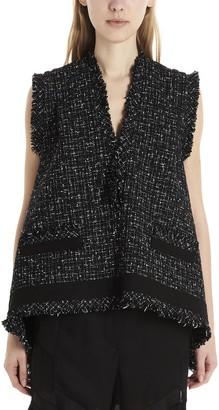 Sacai Tweed Gilet