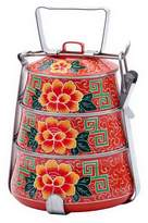 Karma Living Asian Floral Tiffin