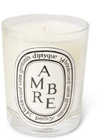 Diptyque Ambre Scented Candle, 190g - one size