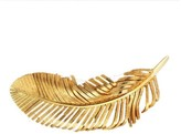 Tiffany & Co. 14K Yellow Gold Feather Pin Set