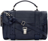 Proenza Schouler Indigo Medium PS1 Satchel