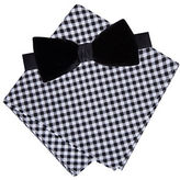 Lord & Taylor Boys 2-7 Adal Velvet Bow and Pocket Square Set