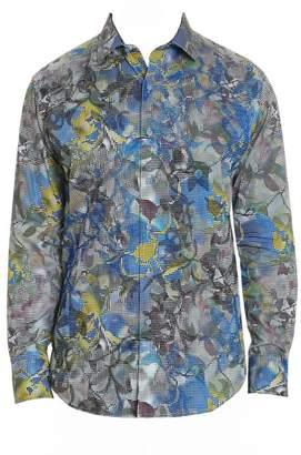 Robert Graham Oasis Abstract Print Shirt