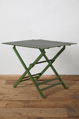 Anthropologie Myrtle Iron Table By in Green Size ALL