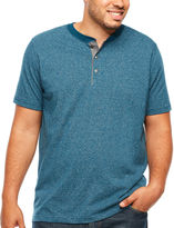 THE FOUNDRY SUPPLY CO. The Foundry Big & Tall Supply Co. Short Sleeve Henley Shirt Big and Tall