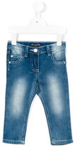 Miss Blumarine regular jeans - kids - Cotton/Polyester/Spandex/Elastane - 12 mth