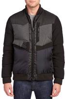 Moncler Reppu Wool-Blend Down Jacket