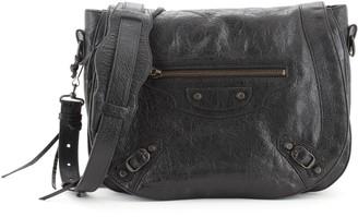 Balenciaga Neo Folk Messenger Classic Studs Bag Leather