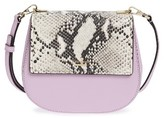 Kate Spade Cameron Street Small Byrdie Leather Saddle Bag - Purple