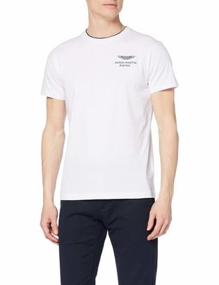 Hackett London Men's Amr Dbl Rib Tee T-Shirt