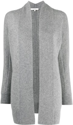 Vince Open-Front Mid-Length Cardigan