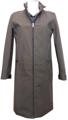 Prada Green Trench Coat for Women