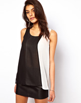 Asos Tank With Double Layer Panels