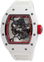 RIchard Mille RM55 Bubba Watson White Asia Edition Watch