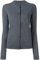 Jil Sander Navy classic cardigan - women - Wool - L