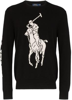 Polo Ralph Lauren intarsia logo jumper
