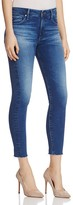 AG Jeans Farrah Raw Hem Skinny Ankle Jeans in Native Dew