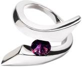 Vessel Amethyst Silver Ring