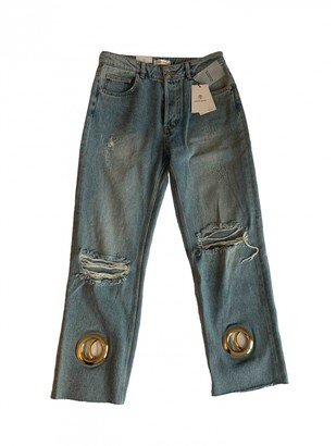 Anine Bing Blue Denim - Jeans Jeans