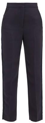 Roksanda Colwyn High-rise Cady Trousers - Navy