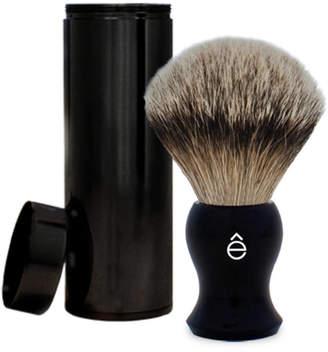 eShave Silvertip Badger Hair Travel Shaving Brush