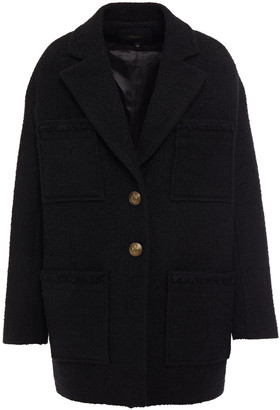 Maje Boucle-tweed Coat