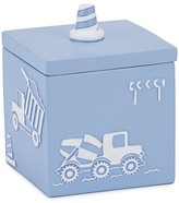 Kassatex Construction Bath Canister Blue