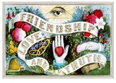 Oliver Gal 'Friendship, Love & Truth' Framed Canvas Print